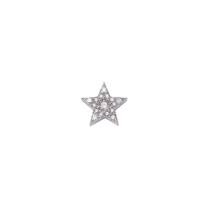 STAR DIAMOND SINGLE EARRING