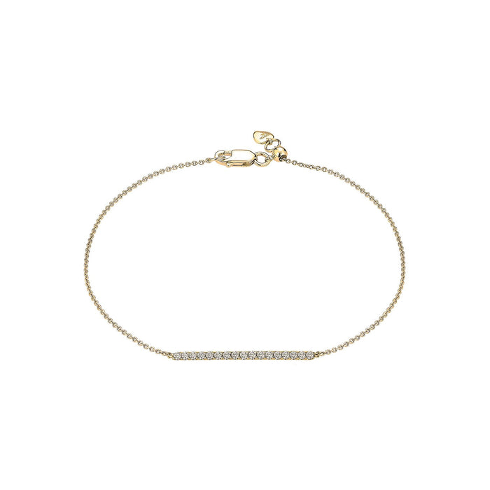 Diamond Skinny Bar Bracelet