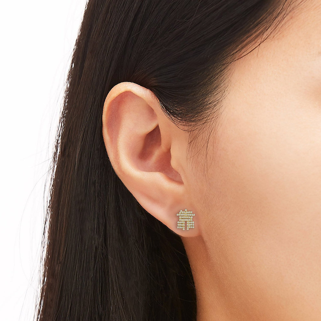 What The Fuck Diamond Single Earring