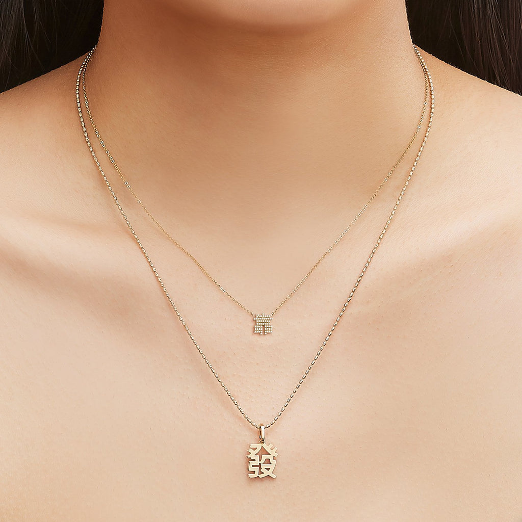 What The Fuck Diamond Necklace