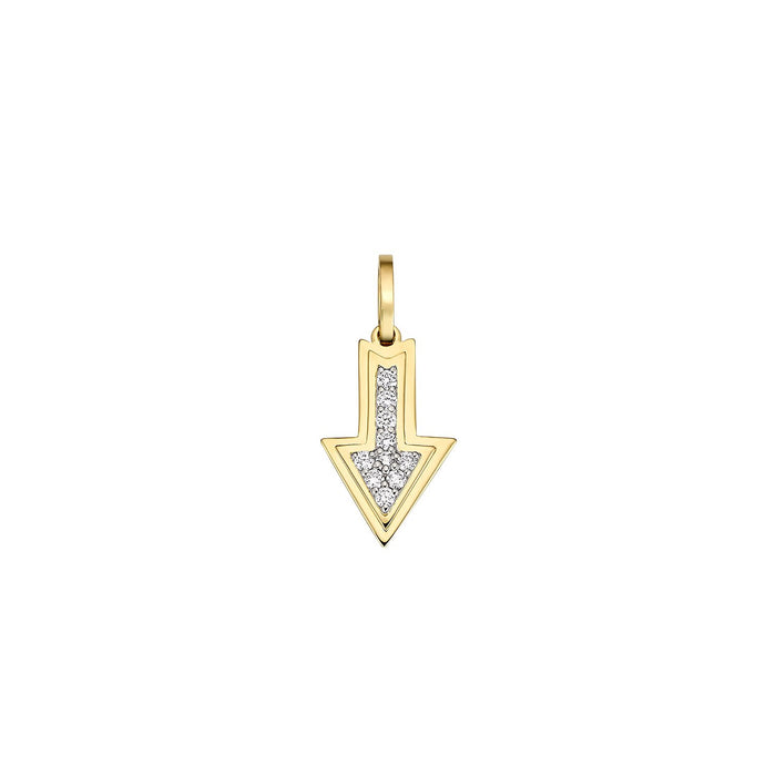 Arrow Diamond Charm