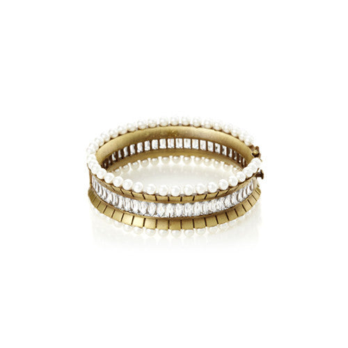 Floating Pearl Bangle