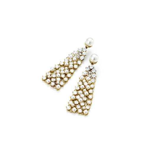 Triangle Fall Statement Earrings