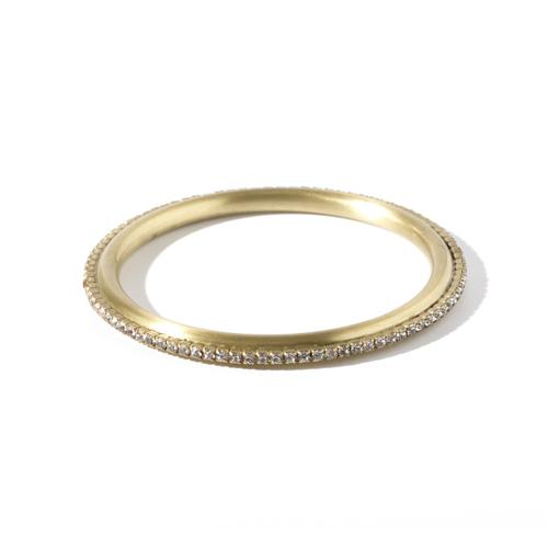Jill Bangle - Gold Brass