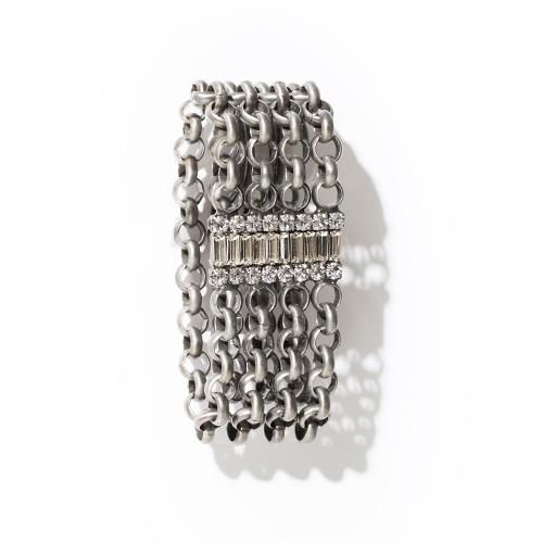 Farrah Bracelet - Antique Silver