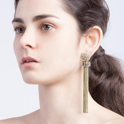 Donna  Earrings - Gold Brass