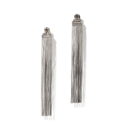 Faye Earrings - Antique Silver