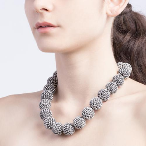 Tamara  Necklace - Antique Silver
