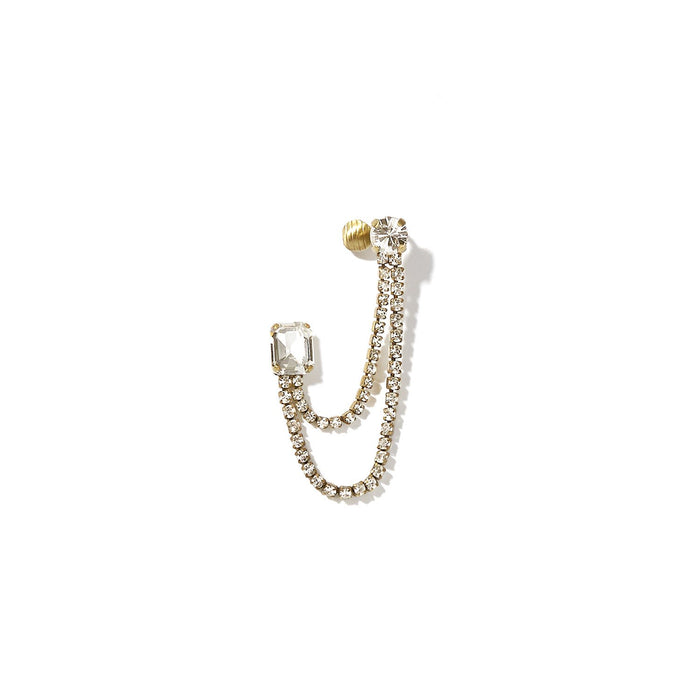 Tiara Single Earring - Left