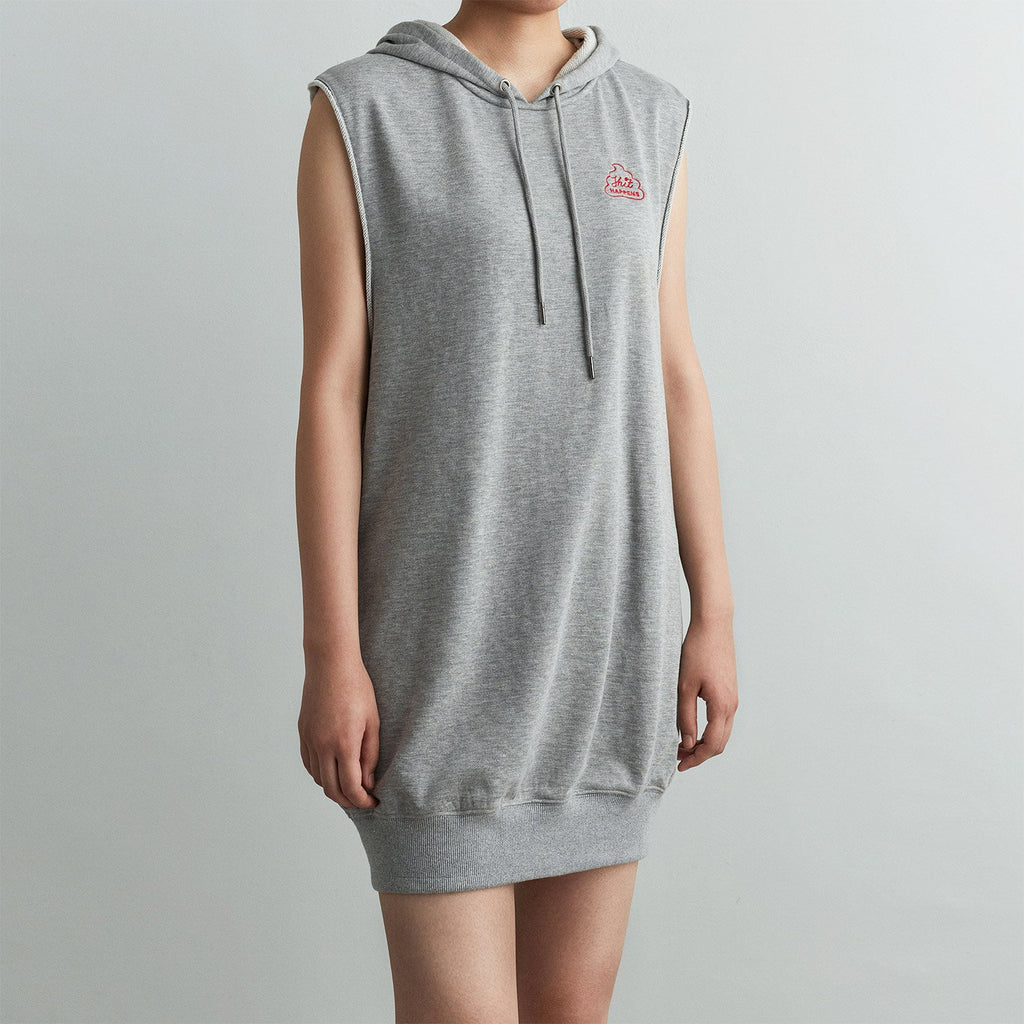 SHIT HAPPENS HOODIE DRESS