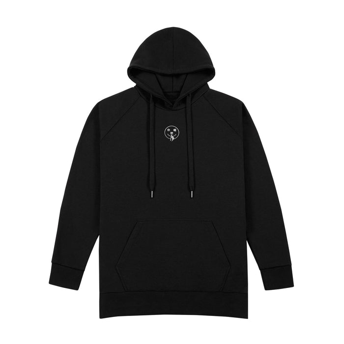 你閉嘴 SHUT UP HOODIE - BLACK