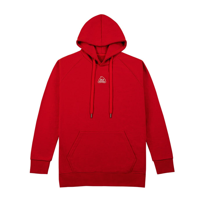 SHIT HAPPENS HOODIE - RED