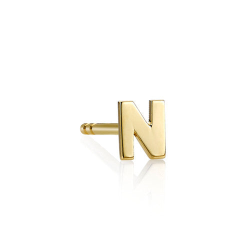 Alphabet Single Earring (A-Z)