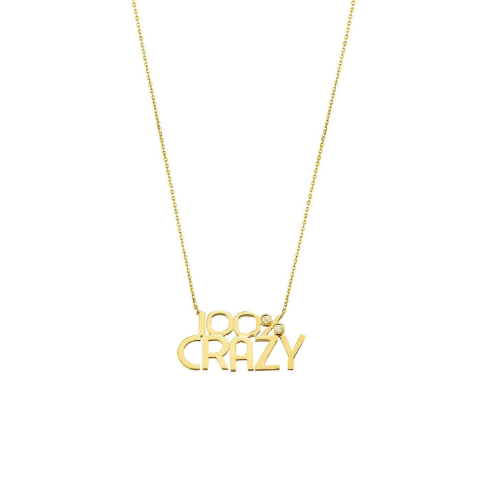 100% CRAZY NECKLACE