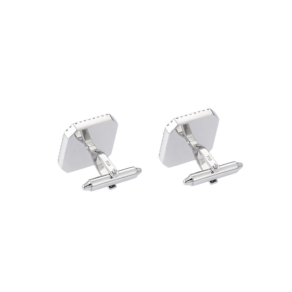 Custom Diamond Cufflinks