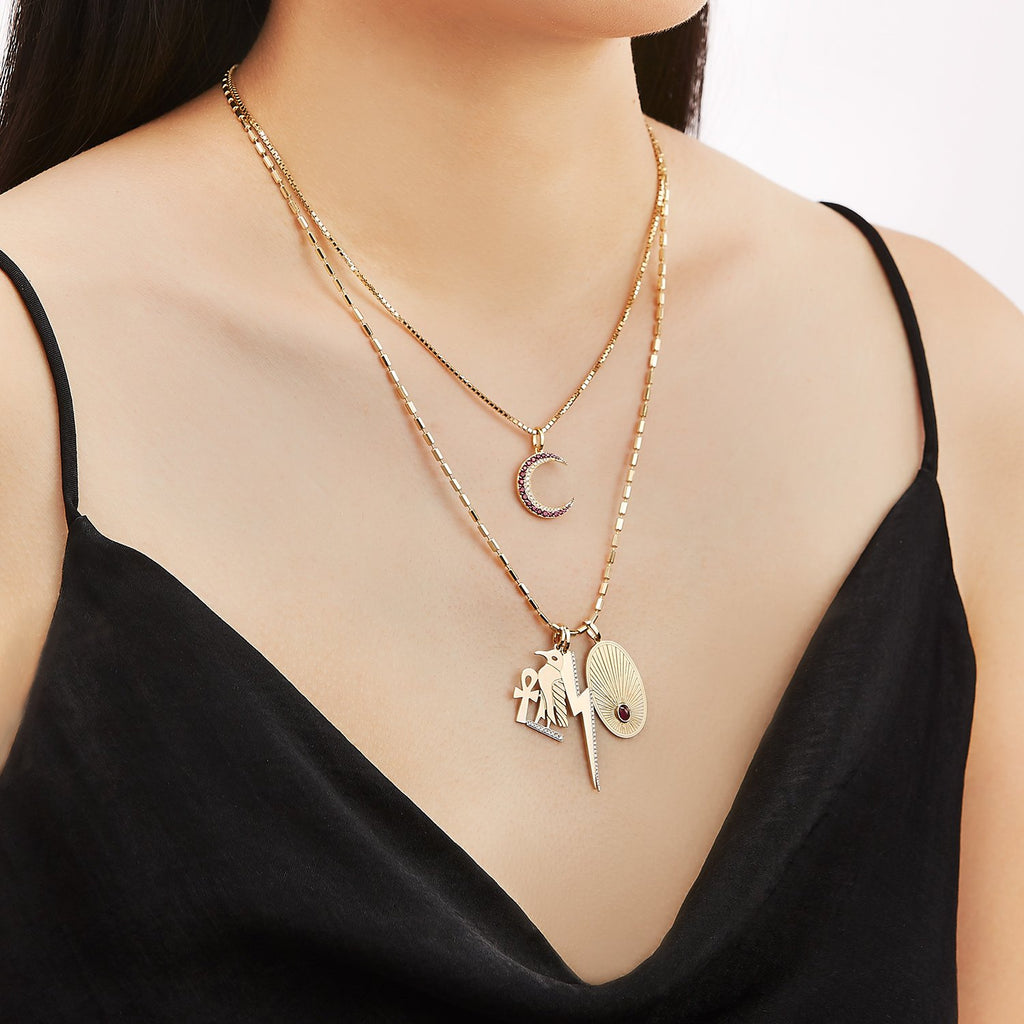 Lightning Bolt Diamond Charm