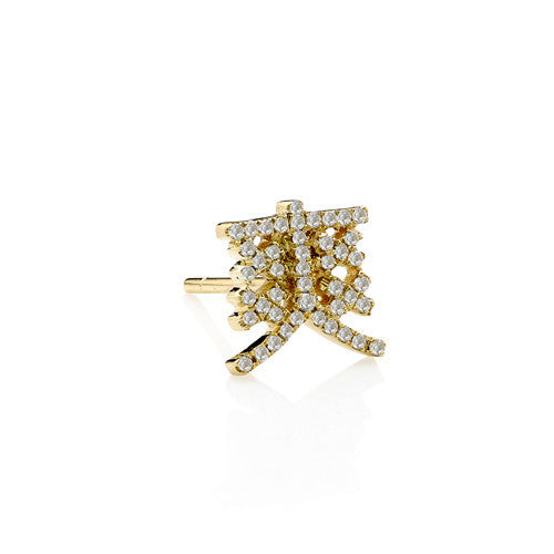 Awesome Diamond Single Earring