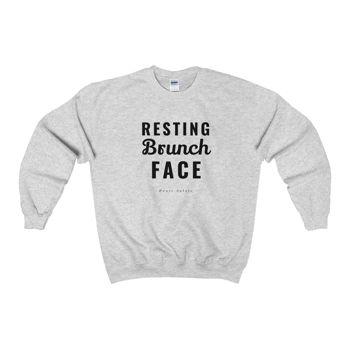 Resting Brunch Face Crewneck