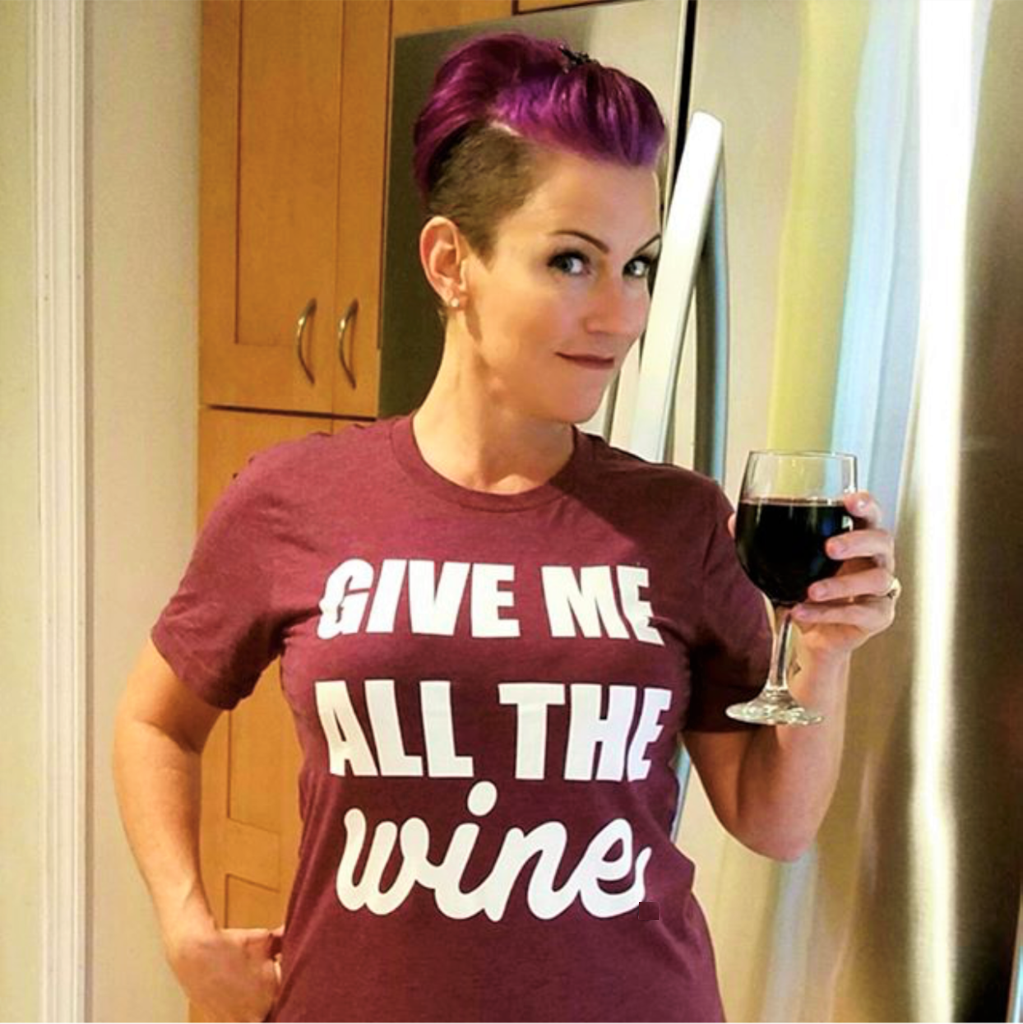 Give Me All The Wine Shirt