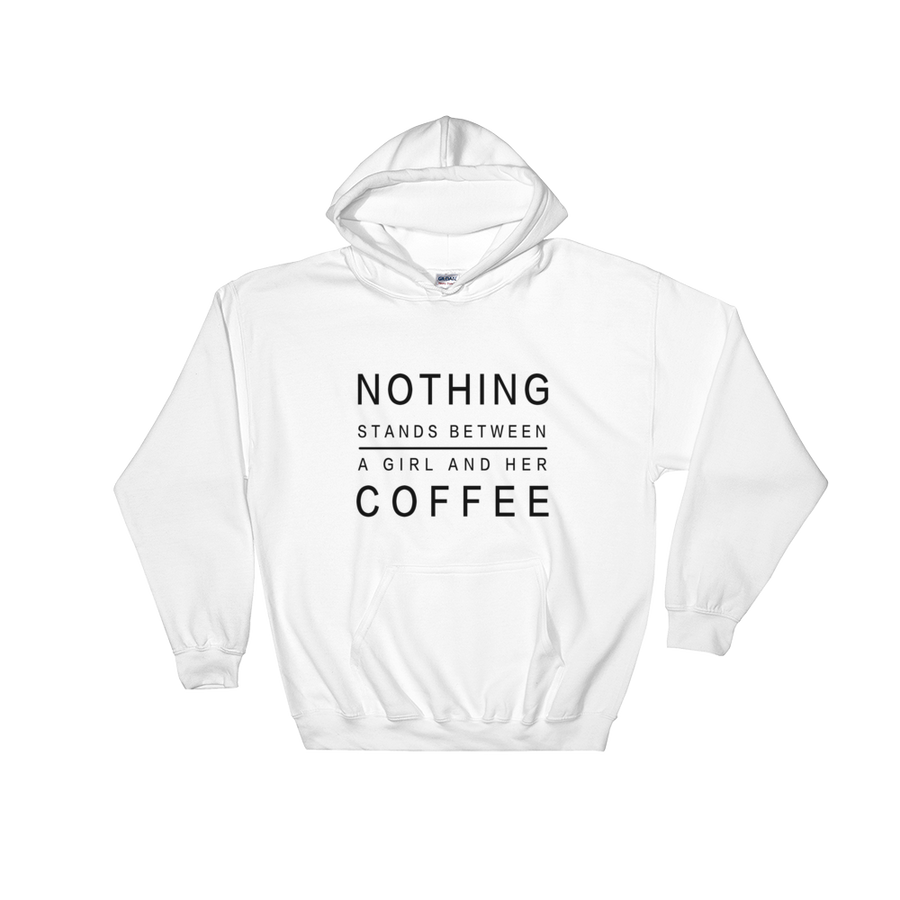A Girl And Her Coffee Sweatshirt