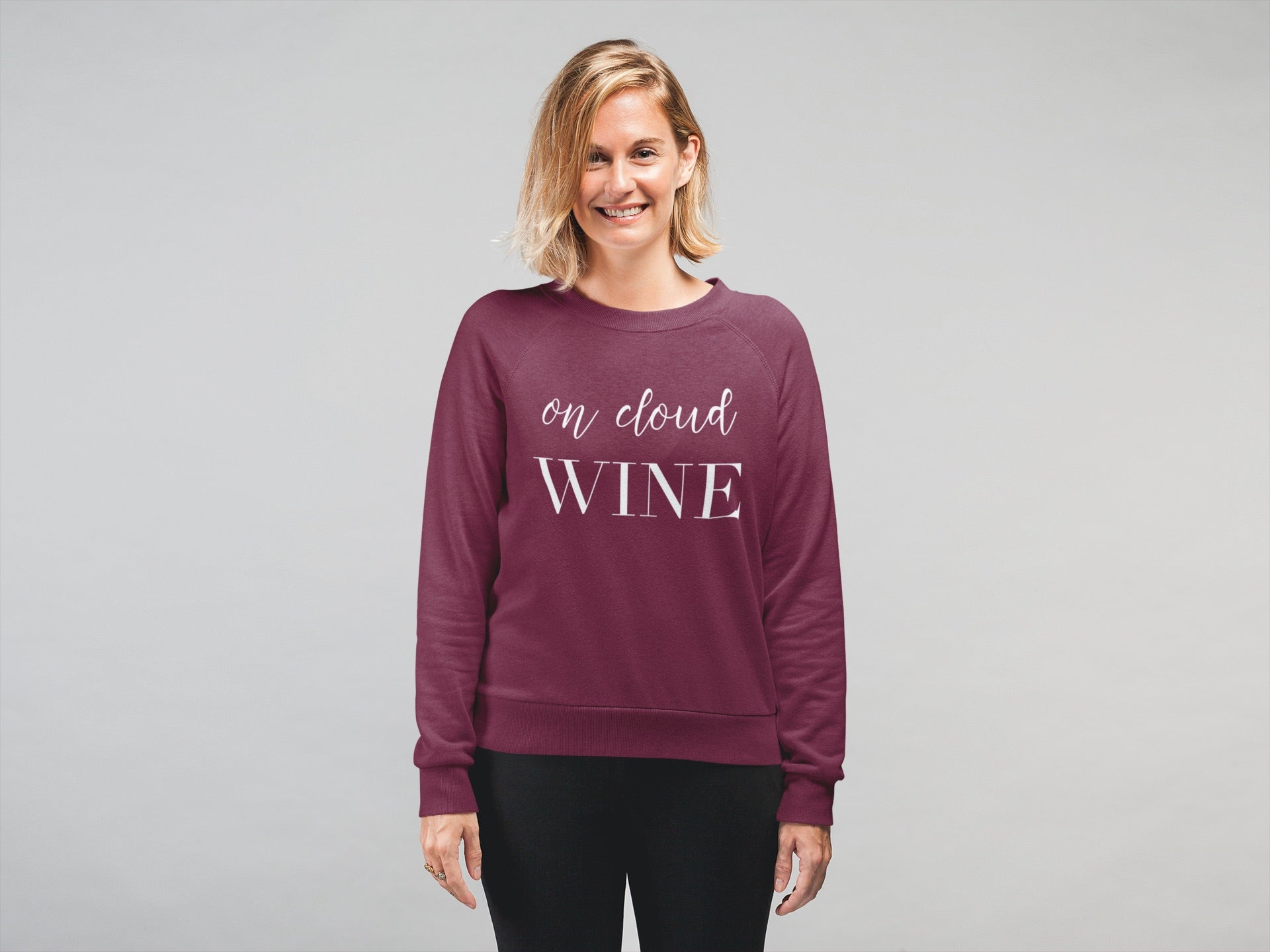 CLOUD WINE Crewneck