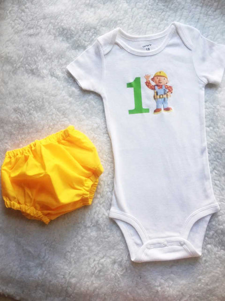 Bob the Builder Baby Boy Set $30
