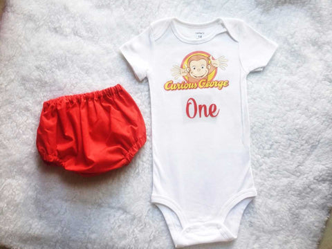 Curious George Baby Boy Set $30