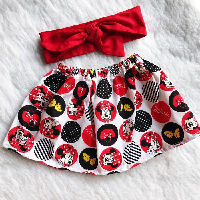 2 PC SET Skirt and Headband  FREE SHIPPING