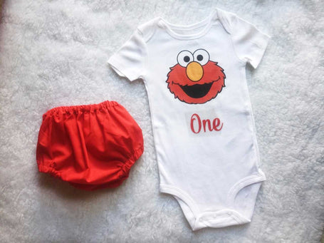 Elmo Baby Boy Set $30