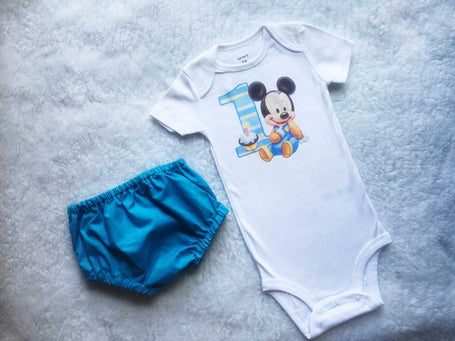 Mickey Baby Boy Set $30