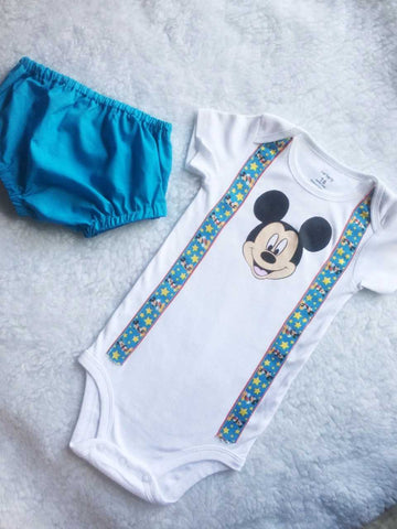 Mickey One Baby Set $34