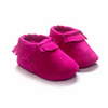Fuchsia Suede Shoes $14