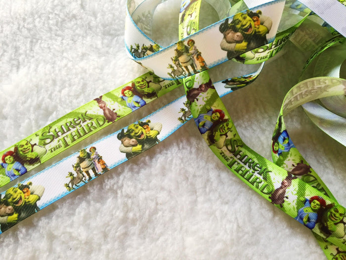 $4 Sherk 7/8 Grosgrain Ribbon