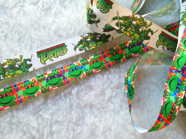 $4  Ninja Turtles  7/8 Grosgrain Ribbon