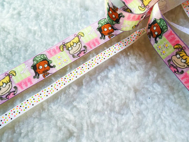 $4 Simsom 7/8 & 3/8 Grosgrain Ribbon