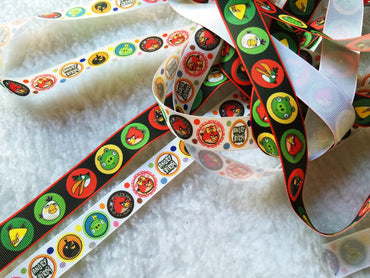 $4 Angry Birds7/8 Grosgrain Ribbon