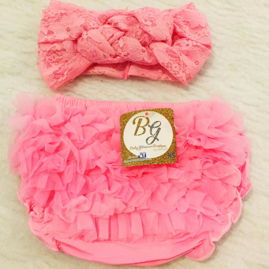 Pink Diaper Cover $14.50