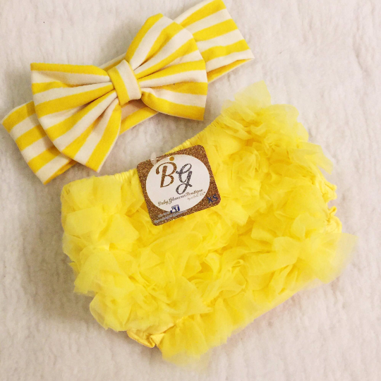 Yellow Diaper Cover $14.50