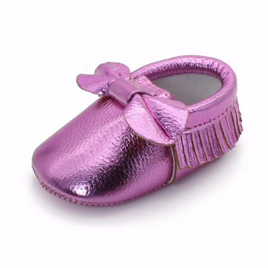 Shinny Pink Shoes $13