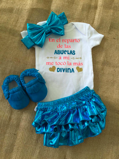 Abuelo / Abuelas Bello Baby Set $29