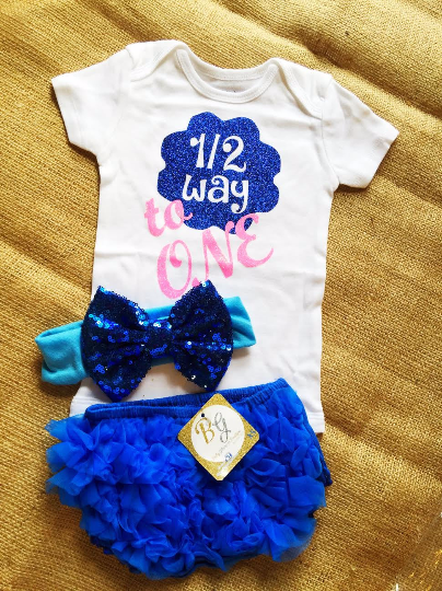 Half Birthday Baby Set $29
