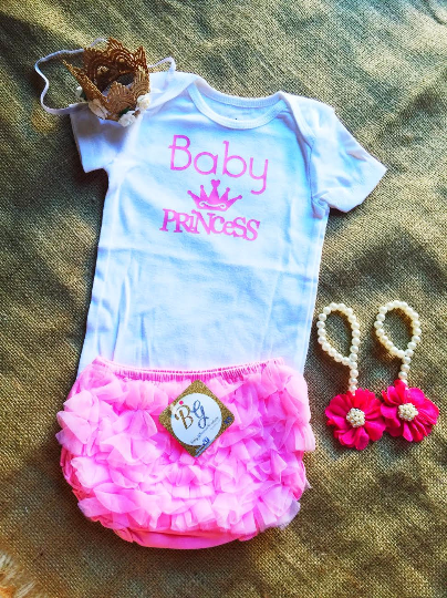 Baby Princess Pink Baby Set $29