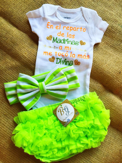 Madrina Baby Set $29