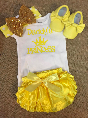 Daddy's Baby Set $29