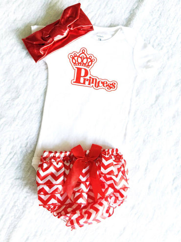 Red Baby Set  $29