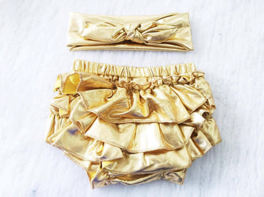Diaper Cover Gold $14.50