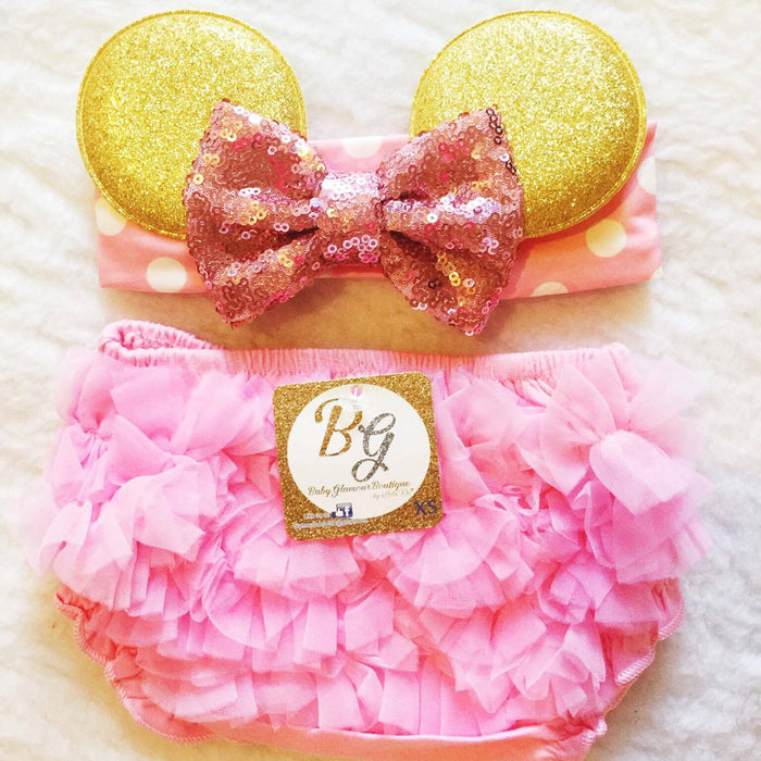 Pink Diaper Cover $16