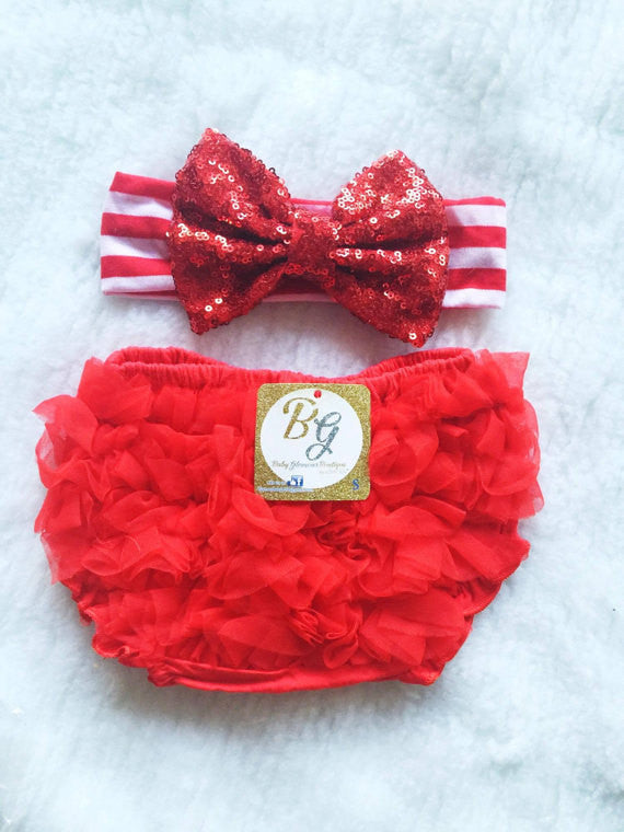 Red Diaper Cover $14.50