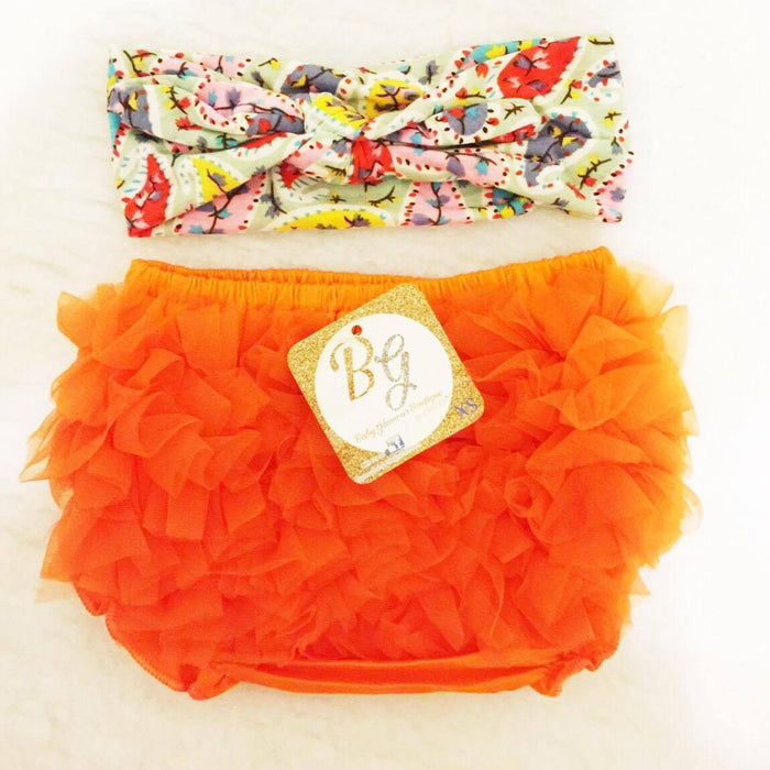 Orange Diaper Covers $14.50
