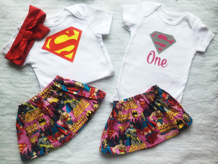 Superman Outfit Set